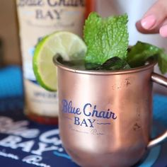 This low calorie mule recipe is easy to make with just two ingredients. It's perfect all year round! In a rocks glass or tin mug fill with ice, pour Blue Chair Bay® Spiced Rum followed by ginger beer. Stir, sit back and relax. Low Calorie Option: Use diet ginger beer to have an 86 calorie cocktail. #bluechairbay #spicedrum #BCBHappyHour