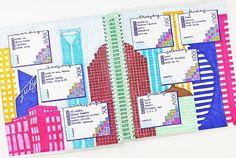 Completed CityLine spread from last week!  Not sure if it's my favorite though but Love these colors together! #Bulletjournal #bulletjournaljunkies #bulletjournaling #journal #planner #planning #planneraddict #plannerjunkie #plannercommunity #plannerspread #plannernerd #plannergirl #erincondren #kikkik #kikkiloves #study #studying #studyblr #plannerobsessed #plannerlove #stickers #plannerstickers #etsyshop #love #weeklyspread