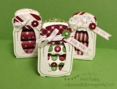 Nuggets Boxes by LorriHeiling - Cards and Paper Crafts at Splitcoaststampers