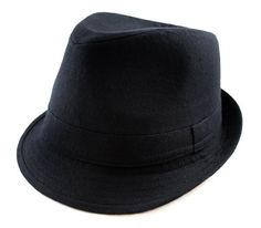 Amazon.com  Classic Black Fedora Hat  Clothing f77a553a1993