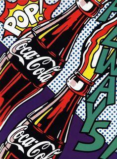 Cola pop art