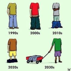 Funny pictures about The Evolution of Baggy Pants. Oh, and cool pics about The Evolution of Baggy Pants. Also, The Evolution of Baggy Pants photos. Funny Baby Images, Funny Pictures For Kids, Funny Kids, Fail Pictures, American Funny Videos, Funny Dog Videos, Jouer Au Foot, Sagging Pants, Justin Bieber Jokes
