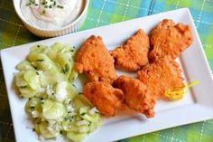 Kuracie prsia neboli nikdy tak lahodné. Skvelý recept na zemiakový pac, po ktorom budú EXTRA krehké a lahodné. Toto zvládne každý - Kreatívne recepty Cauliflower, Tacos, Chicken, Vegetables, Cauliflowers, Vegetable Recipes, Cucumber, Veggies, Cubs