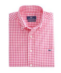 Nottingham Gingham Classic Tucker Shirt
