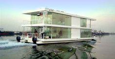 X-Architects' houseboat, Dubai Marina, Dubai