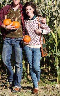 Pumpkin picking season
