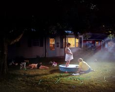 Gregory Crewdson, Untitled, 1999. Chromogenic print, 50 x 60 inches (127.0 x 152.4 cm)