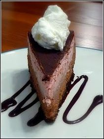 Family, Food, and Fun: Double Chocolate Raspberry Cheesecake