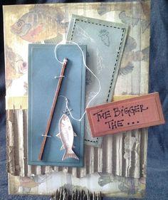 Fisherman birthday by Christa Trude