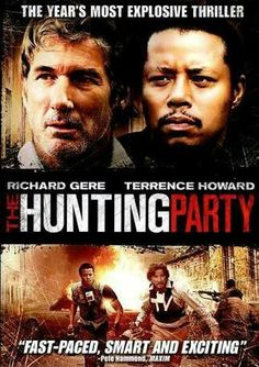 The Hunting Party poster, t-shirt, mouse pad Party Poster, Poster On, Poster Prints, The Hunting Party, Austin Police, Information Poster, Richard Gere, Movie Covers, Original Movie Posters