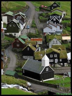 Bøur - Faroe Islands I remember visiting here! :)