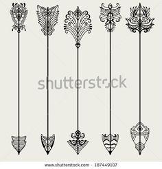 Medieval arrows Stock Photos, Medieval arrows Stock Photography ... Tattoo ideas