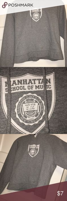Manhattan school of music cropped sweater this is really cute and comfy! Sweaters
