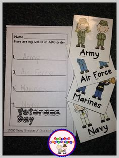 ABC Ordering Militar