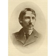 Robert Louis Balfour Stevenson 1850-1894 Scottish Novelist Essayist And Poet From The Book The Masterpiece Library Of Short Stories Scottish Volume 10 Canvas Art - Ken Welsh Design Pics (12 x 18)