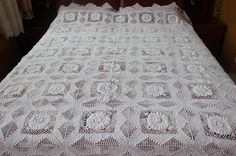 SALE: 100% Cotton Handmade Vintage Style Lace by ShabbyChicLinenC