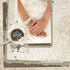 Rustic Wedding Collection Biggie Digital Scrapbooking Kit by Brandy Murry | ScrapGirls.com