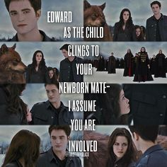Twilight are the best movies in the world. You can't tell me any different. <3