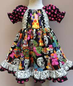 Day of the dead dress  https://www.etsy.com/shop/LevonaDanielle