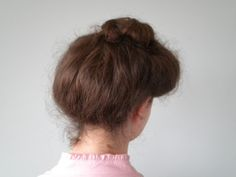 Anne of Green Gables bun - Edwardian updo, works well with a hat