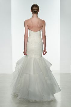 Wedding gown by Amsale
