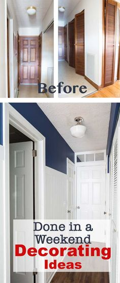 Easy and affordable decorating ideas Before and After room makeover. #sponsored #OneRoomRefresh @SchlageLocks