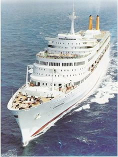 Canberra .. one of my childhood cruises