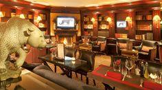 Leopard Bar-Lounge, Geneva. Hotel d'Angleterre. Telephone - Lounge bars Geneva