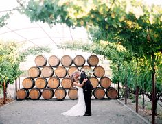 A rustic vineyard wedding never loses it's charm on us. The bride & groom wanted something soft, romantic, and centered on family & friends, and that's exactly what they got.