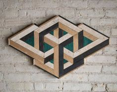 Reclaimed Wood Wall Art Wood Decor by EleventyOneStudio on Etsy