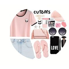 A fashion look from June 2017 featuring Topshop shorts, Old Navy flip flops and KoKo Couture clutches. Browse and shop related looks.
