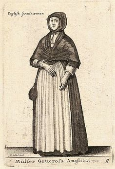 From Wenzel Hollar's Theatrum Mulierum, published in London in 1643.