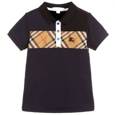fcff4870c Boys Blue JEFF Polo Shirt for Boy by Burberry. Discover the latest designer  Tops for