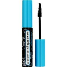 Essence All eyes on me - Waterproof Mascara. I love the compact brush and it's 100% clump free!