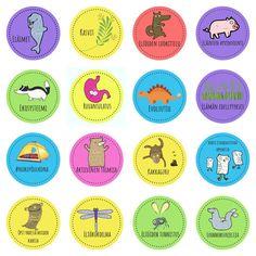 Oppimismerkit formatiivisen arvioinnin välineenä by Rita Keskitalo Interactive Media, Tag Image, Early Childhood Education, Mobile App, Storytelling, Scene, Teaching, Life, Montessori Activities