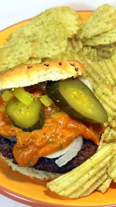 Cheeseburger with a BBQ JALAPENO CHEDDAR CHEESE SAUCE - 52 Grilling Time Secret Extras... THIS CHEESE SAUCE will set your burger apart as something special.  Easy and fast to make with tons of flavor.  Listen for the cheers during tailgate season!