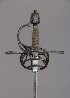 Blade by Clemens Hartkopf (German, active ca. 1625). Rapier, ca. 1625. The Metropolitan Museum of Art, New York. Bequest of William H. Riggs, 1913 (14.25.1191)