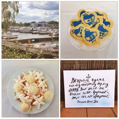 Navy sailor romantic tropical yacht wedding dessert table #aidinabakeacake