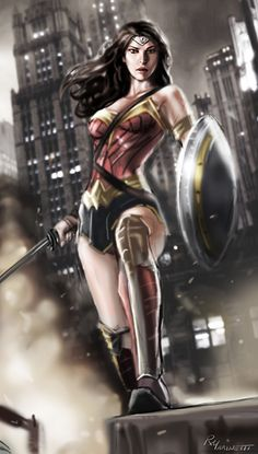 Wonder Woman bsvs by RaffaeleMarinetti.deviantart.com on @DeviantArt