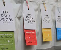 Dark Woods Coffee on Behance