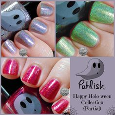 Pahlish Happy Holo-ween Collection (Partial)