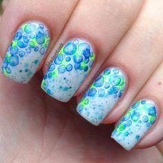 pinselmalerei nägel 5 besten - nailart nail designs