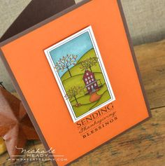 Stampin Up Thanksgiving Cards | Thanksgiving card | Cards I Love - Stampin' Up!
