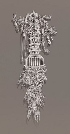 Bovey Lee paper art