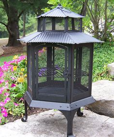 Another great find on #zulily! Pagoda Fire Pit #zulilyfinds