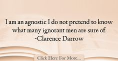 Clarence Darrow Quotes About Men - 45201