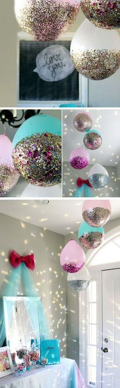 :hearts: BALLOONS ARE THE BEST DECOR EVER :hearts: 7 Fun New Years Eve Party Ideas for 2017 | New Years Eve Party Ideas | http://Fenzyme.com