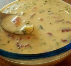 Weight Watchers Yummy Cheese Soup