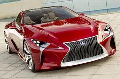 Lexus представил полноценные изображения концепта LF-LC