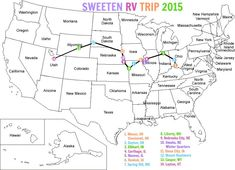 free printable road trip book and rv trip giveaway u create map of usausa mapsmake